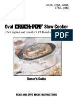 Rival Slow Cooker 3760