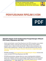 Penyusunan RPI2JM 5 KSN
