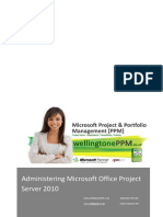 Administering Project Server 2010 Manual PPMiaB Version