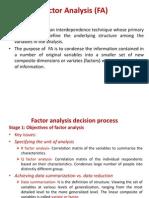 Factor Analysis (FA) (1)