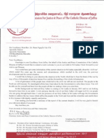 Situation Report June 2014 - Jaffna Catholic Diocese Justice and Peace Commission