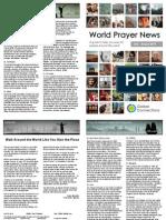 World Prayer News - July / August 2014