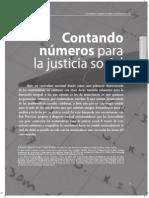 Contando Numeros Para Justicia Social