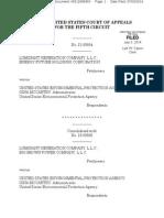 Luminant Generation Co. v. EPA, No. 12-60694 (5th Cir. July 3, 2014)