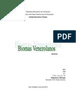 biomas venezolanos