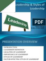 Leadership & Styles