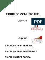Tipuri de Comunicare
