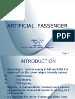 19067668 Artificial Passenger