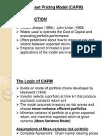 Presentation CAPM