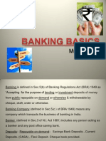 1. Banking Basics