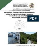 METODOLOGIA ESTANDARIZADA MUESTREO INVERTEBRADOS ACUATICOS.pdf