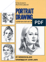 Portrait Drawing a Step-By-Step Art Instruction Book -Mantesh