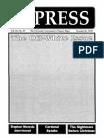 The Stony Brook Press - Volume 15, Issue 4