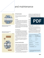 Spherical Roller Bearing Lubrication & Maintenance Page 1