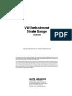 Vw Embedment Strain Gauge Manual
