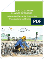 A Guide to Climate Change Response- A Learning Manual for Cambodian Organisations and Institutions