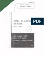 Carta Geologica de Chile