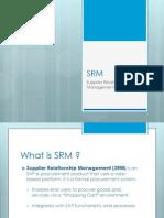 SRM Overview