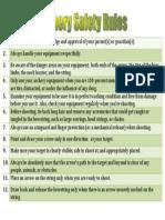 archery safety rules