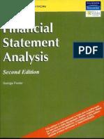 Financial Statements Analysis-george Foster