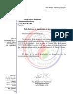 Carta INCOTEGAS de Alquiler