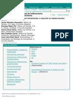 Artrocentesis, terapia intraarticular e inyección en tejidos blandos