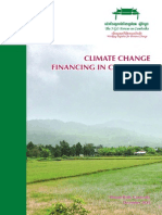 Climate Change Financing in Cambodia