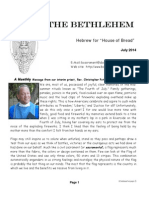 July Bethlehem Newsletter_2014
