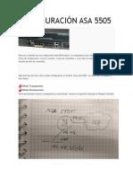 Configuración Asa 5505