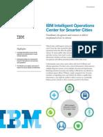 IBM Intelligent Ops Center Solution Brief