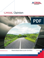 CRISIL Opinion - Oil PSUs - 4 June 2014