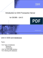 Introduction to CICS Transaction Server3A 102704