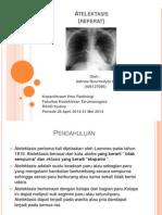 Atelektasis radiologi ppt