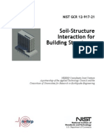 Soil-Structure  Interaction for  Building Structures