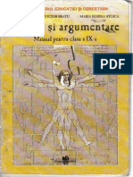 Manual de Logică şi Argumentare