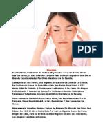 Fuertes Dolores de Cabeza, Medicina Para El Dolor, Tratamientos Para La Migraña, Migrana