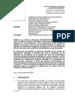 Res. 1250-2009-SC1 - Corporación Sagitario vs Salas y Otros