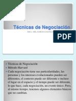 Negotiation Techniques Español