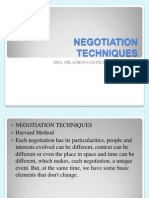 Negotiation Techniques-The Harvard Method (1)