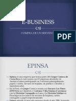 E-BUSINESS Compra de Servidor