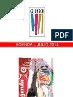 - Agenda – Julio 2014