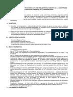 Lineamiento Para La Tranversalización Del Enfoque Género en La Gestión de Los Servicios Públicos de La Región Piura (1)