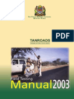 Tanzania Roads Agency_ Field Testing Manual