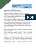 Sis Informacion en Organizaciones-Unidad1 Tema1-Sis Informacion