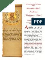 Manubhai Shahs Prediction Techniques Pb w