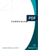 Curriculum IMASA 2014 v1