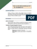 Formas Vocales Del Barroco