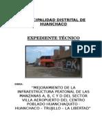 1.- Memoria y Especificaciones VILLA AEROPUERTO