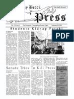 The Stony Brook Press - Volume 16, Issue 10