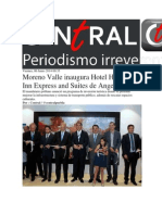 06-06-2014 Central Ct - Moreno Valle inaugura Hotel Holliday Inn Express and Suites de Angelópolis.